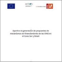 Aporte a la generación de propuestas de mecanismos de financiamiento de las ONGs, 2014 | ICD-ANONG