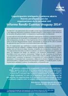 Informe Rendir Cuentas Uruguay 2014