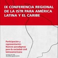 Ponencias de la Novena Conferencia Regional de ISTR para América Latina y el Caribe, 2013 | ISTR LAC – ICD