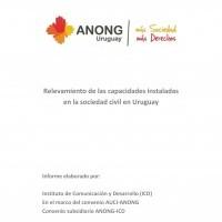 Relevamiento de capacidades instaladas de la sociedad civil en Uruguay, 2013 | ICD-ANONG-AUCI