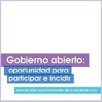 Manual Gobierno Abierto: oportunidad para participar e incidir, 2014 | ICD – Embajada de Nueva Zelandia