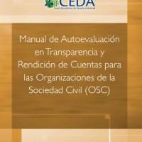 Manual de autoevaluación en transparencia y rendición de cuentas para las organizaciones de la sociedad civil, 2015 | ICD-CEDA