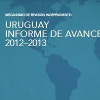 Uruguay Informe de Avance 2012-2013. Mecanismo de Revisión Independiente, 2013 | ICD – Open Government Partnership