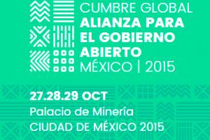 Cumbre Global Alianza para el Gobierno Abierto. Mexico | 2015