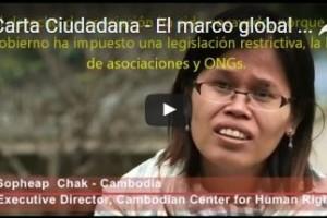 Carta Ciudadana: un marco global para la participación