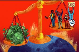 Restricciones del espacio cívico durante la pandemia